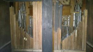 wnętrze szafy organowej, zdj. G.Bosak