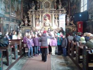 chór podczas mszy świętej